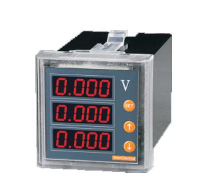 三相电压表|数显三相电压表|三相电压数显表-上海亚